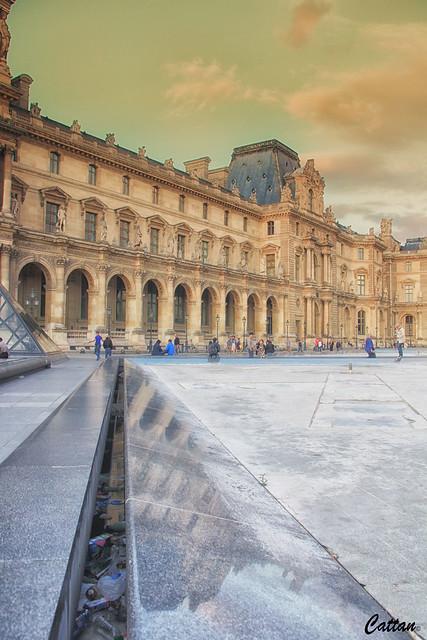 Grand Lovre, Paris, France