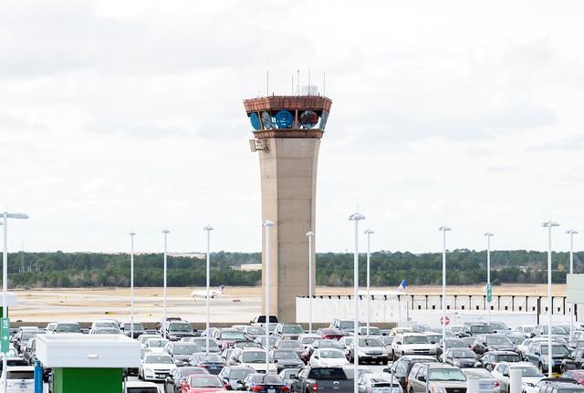 Original Air Traffic Control Tower, IAH 1901061334