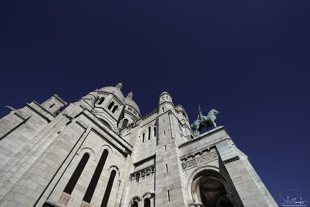 Sacré-Coeur in Paris - France