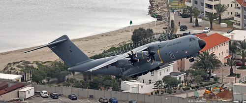 Royal Air Force Airbus Military A400M Atlas C1 ZM417 departing RAF Gibraltar | by Mosh70