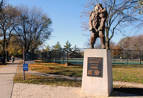 Cowardly Lion at Oz Park, Chicago
