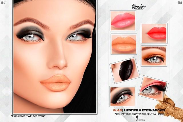 Opulein - Glam Makeup Pack [LELUTKA] | TWE12VE EVENT