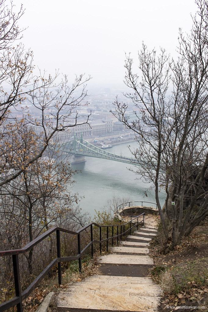 Vista dalla collina Gellért (Gellèrthegy)