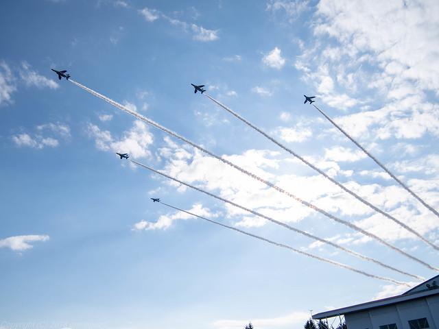 Iruma Air Festival 2018 - Formation Flight