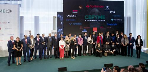V Premios CEPYME 2018