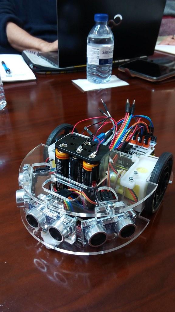 Primera foto del Robot