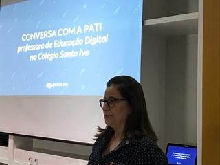 Palestra Profª Patricia Bonjovani na Geekie (nov/2018)