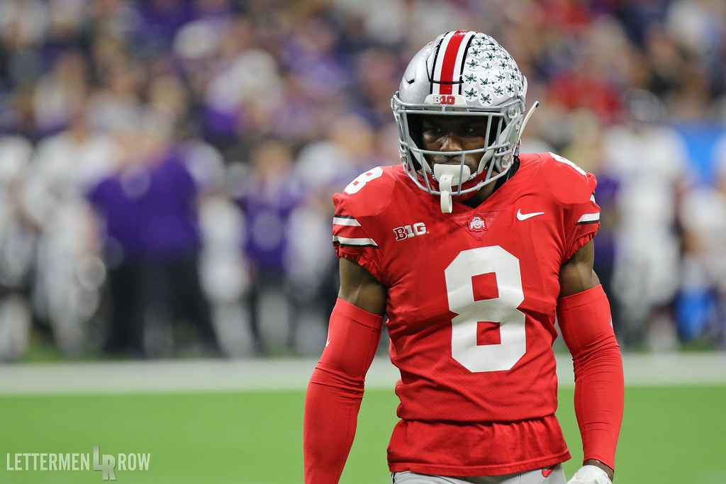 cheap for discount c63ef 53b6c Kendall Sheffield by Birm:Letternen Row   Ohio State beats N ...