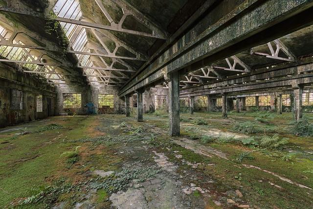 Empty green spaces