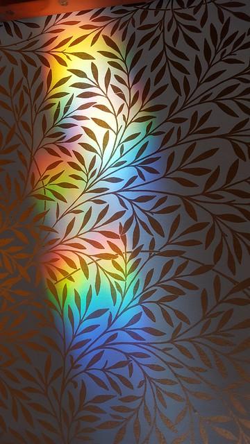 rainbowed wallpaper