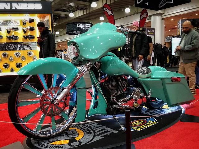 Luxury Designed Motorcycle