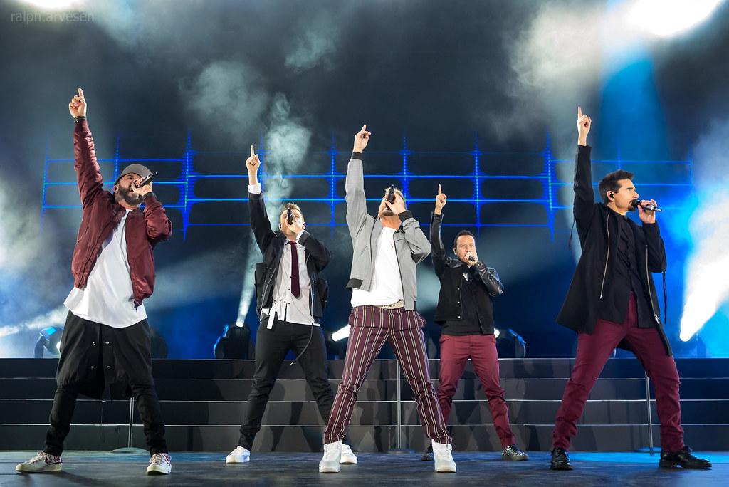 Backstreet Boys performing in Cedar Park, Texas (2018-12-16)