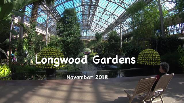 Longwood Gardens - November 2018