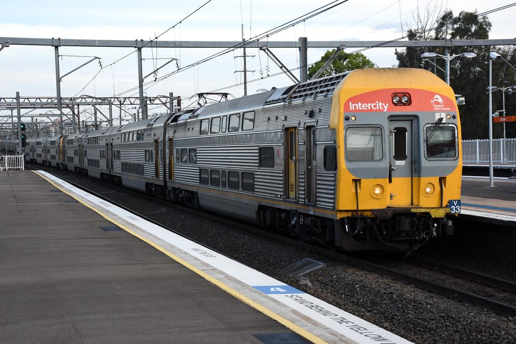 NSW TrainLink V33, Clyde