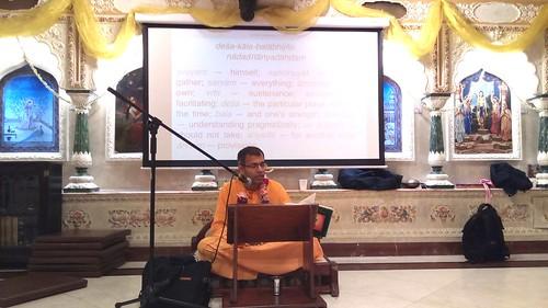 Lecture by Dr Keshav Anand Das @ ISKCON Soho, London, Nov. 2018. | by Keshav Anand Das