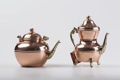 Bule em cobre e bronze