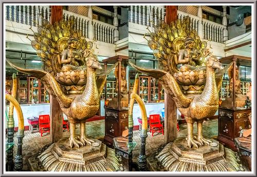 gangaramayatemple colombo srilanka 3d stereoscopy stereophotography