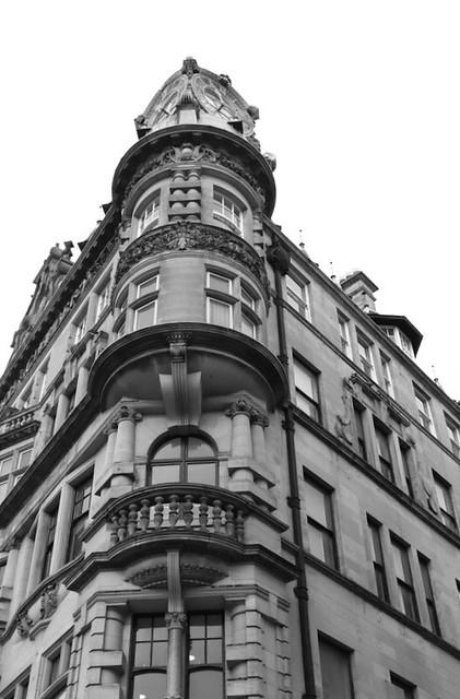 Corner of Emerson Building, Newcastle upon Tyne