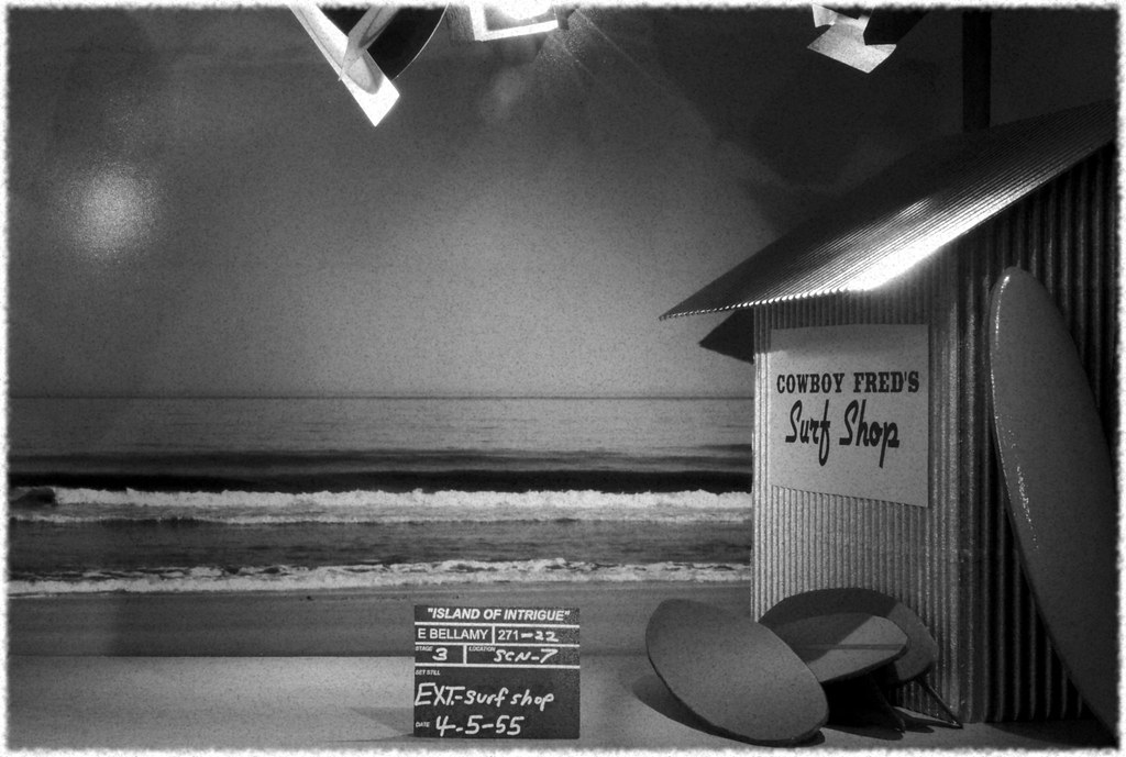 Island of Intrigue - 1950s TV show, 4 of 12 | This set shot