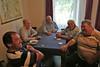 Sonntag im Forum: Die Männer trafen sich zum Stammtisch und Kartenspielen