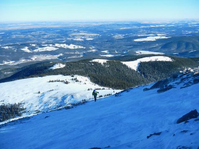 Moose Mountain Winter Summit Hike - Still on the false summit