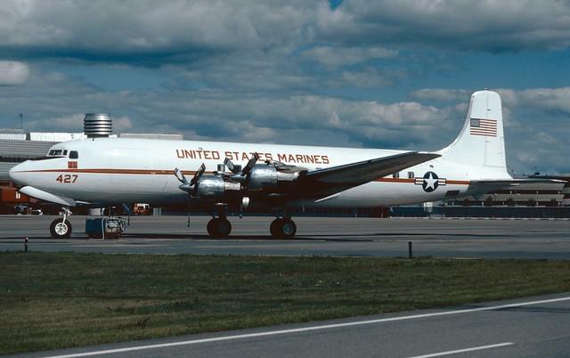 128427 Douglas VC-118B ARN 19810809 kjell nilssson