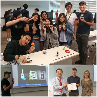 Super honoured to be professor for a day at @singaporetech! @artisanbricks had a great time sharing insights on creativity and user-driven innovation as an artist who uses building bricks as an art medium. Thank you to Dr George Liu, Dr Tanya Maclaurin an | by www.artisanbricks.com