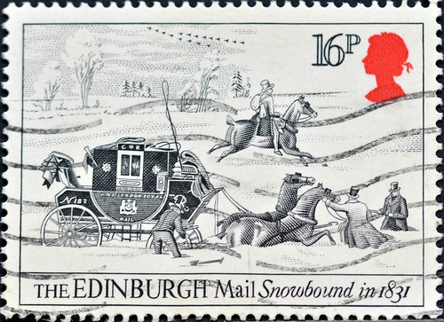 Great Britain (06) 1984 Drawings by James Pollard of the 18th Century | by DC Stamps