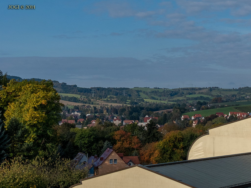 Kreischa (Sachsen), Blick von der