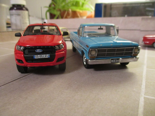 Comparison 2016 Ranger and 1969 F-100 | by IFHP97