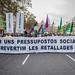29_11_2018 Manifestación por unos presupuestos sociales