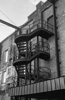 Steel staircase | by wwfloyd