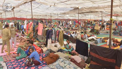 A view of Samagam Pandal
