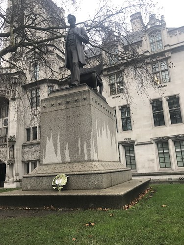 Lincoln Statue in Westminster | by Rootchopper