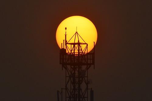 sunday sunset nikon70200mmf28vr nikon d7100 chennai