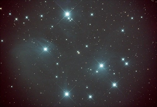 M45 DARK ONLY Stack_13frames_390s_WithDisplayStretch | by BlackWikkett
