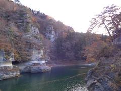 大川の渓谷