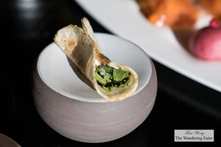 Duck wrap with arugula | by thewanderingeater