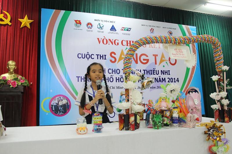 Cuộc thi Sáng tạo thanh thiếu nhi TP. HCM lần 9 năm 2014