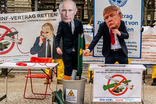 Reden statt Rüsten. Save the INF-Treaty   by ippnw Deutschland