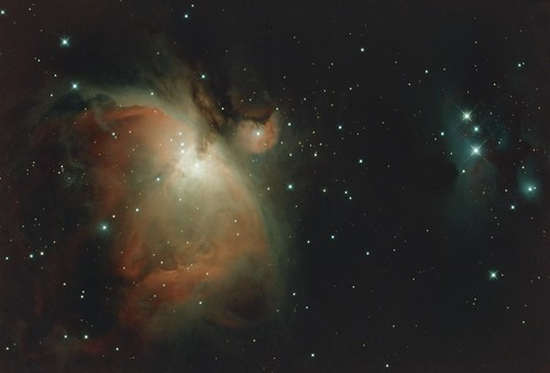 M43 & M42 Orion Nebula NGC1977 Running Man | by BlackWikkett