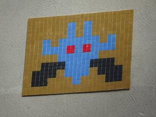 PA 0566 réactivé / Space Invader