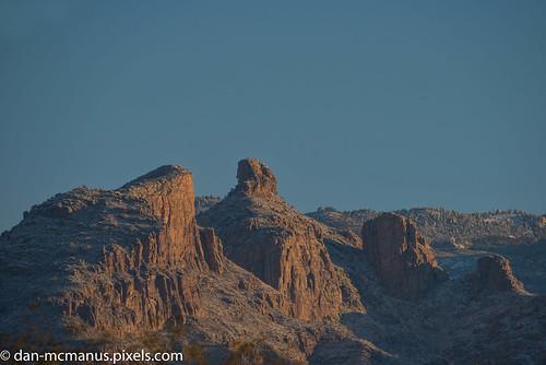 mountains santa catalina arizona landscape snow thimble peak tucson santacatalinamountains thimblepeak