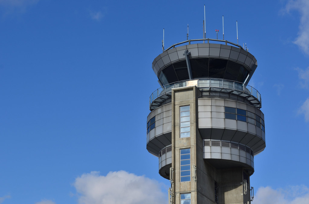 """""""Air Traffic Control Tower"""" by Open Grid Scheduler / Grid Engine is marked with CC0 1.0"""