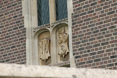 Decorative tablets at St Mary