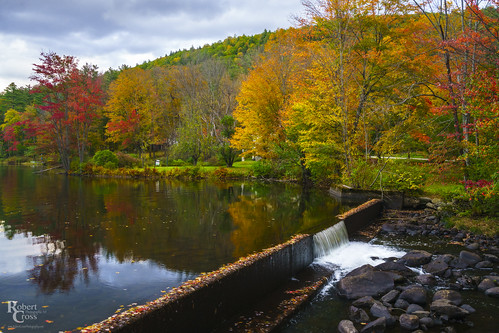 a7rii alpha appalachianmountains emount fe1635mmf4zaoss greenmountains ilce7rm2 killington newengland sony vt vermont autumn clouds creek dam fall foliage forest fullframe lake landscape leaves mirrorless nature pond reflection stream trees water waterfall