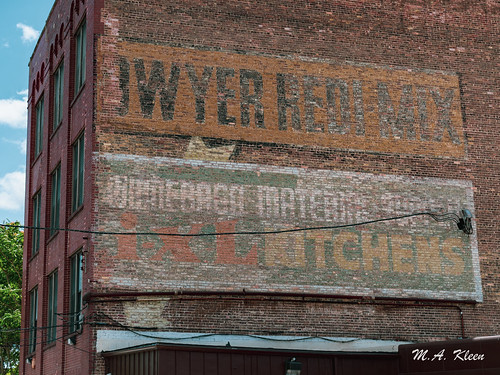 Dwyer Redi-Mix Ghost Sign
