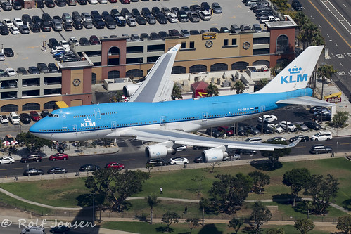 PH-BFU Boeing 747-400 KLM Los Angeles airport KLAX 12.09-18 | by rjonsen