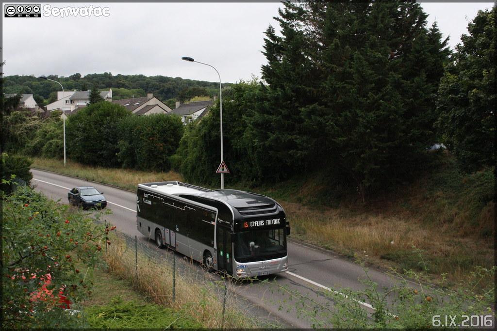 Man Lion's City Hybride - Transdev CSO (Courriers de Seine-et-Oise) / STIF (Syndicat des Transports d'Île-de-France) n°72791