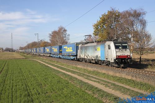 186 105 BLS Cargo . Dülken . 18.11.18.